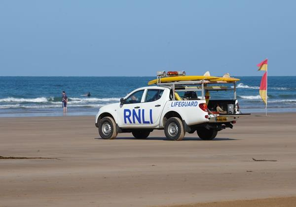 Marine View Woolacombe Holiday Cottages RNLI Patrolled Beaches
